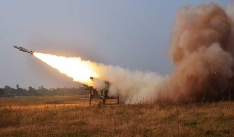 India successfully test-fires surface-to-air missiles that can engage multiple targets