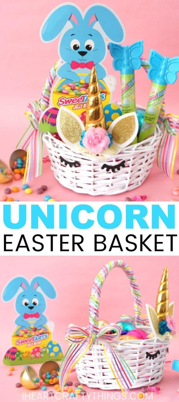 """<p>The holidays are a magical time for kids, which is why this mystical unicorn basket is fitting for your little bunny. </p><p><em><a href=""""https://iheartcraftythings.com/diy-unicorn-easter-basket.html"""" rel=""""nofollow noopener"""" target=""""_blank"""" data-ylk=""""slk:Get the tutorial from I Heart Crafty Things »"""" class=""""link rapid-noclick-resp"""">Get the tutorial from I Heart Crafty Things »</a></em></p>"""