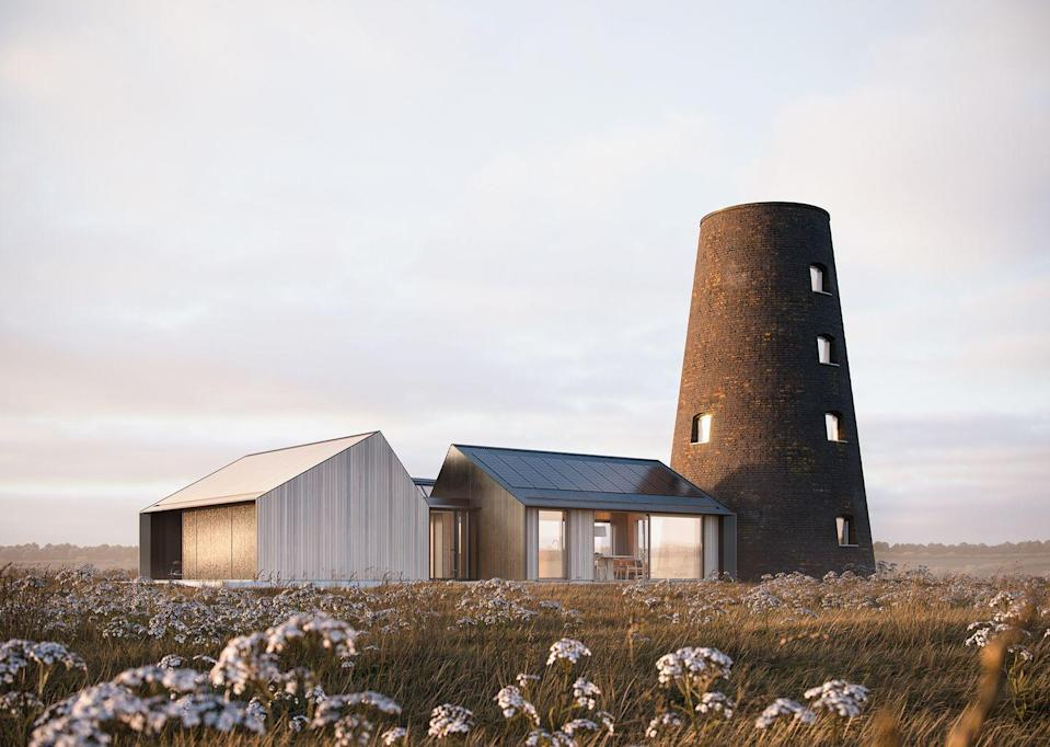 """<p>Having started his career as an apprentice to a master builder, Ian Hazard brings a practical, hands-on approach to his architecture. He has plenty of experience working with listed structures, with current projects including a sandstone-gabled cottage and a converted windmill (pictured).</p><p><strong>They say </strong>'Clients know the way that they live, work and play better than we do. We simply help them to understand how they use their space, and to design buildings that frame their lives, and their relationship to the landscape.' <a href=""""https://ianhazard.com/"""" rel=""""nofollow noopener"""" target=""""_blank"""" data-ylk=""""slk:ianhazard.com"""" class=""""link rapid-noclick-resp"""">ianhazard.com</a></p>"""