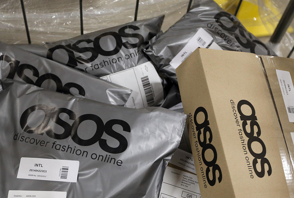 ASOS started making bigger sustainability steps last year. [Photo: Getty]
