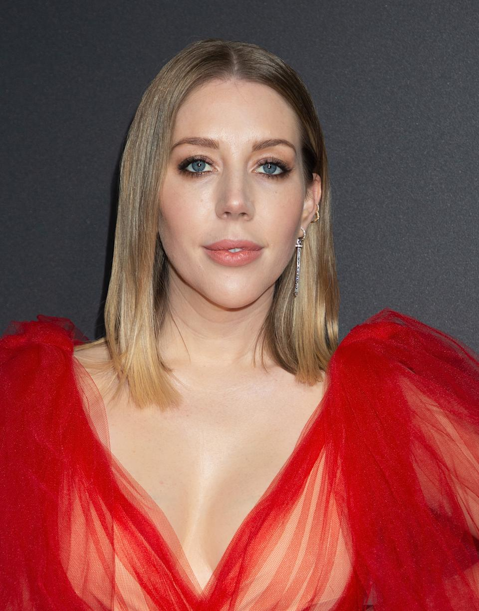 Katherine Ryan attends the NME Awards 2020 at O2 Academy Brixton on February 12, 2020 in London, England. (Photo by Jo Hale/Redferns)