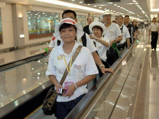 Taiwan received 1.78 million Chinese tourists last year