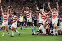 Japan reached the Rugby World Cup quarter-finals for the first time in 2019