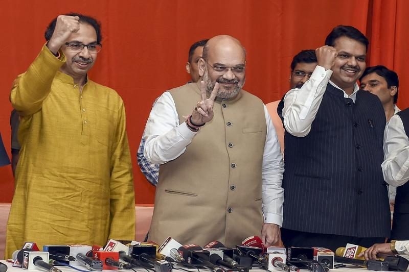 Shiv Sena to Contest from 124 of 288 Seats in Maharashtra Assembly Polls, Rest for BJP and Allies