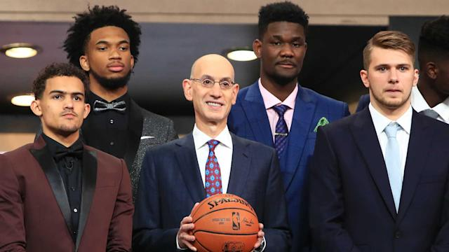 The All-Rookie first team has been announced, and it is a mirror of the top five picks in the 2018 NBA Draft.