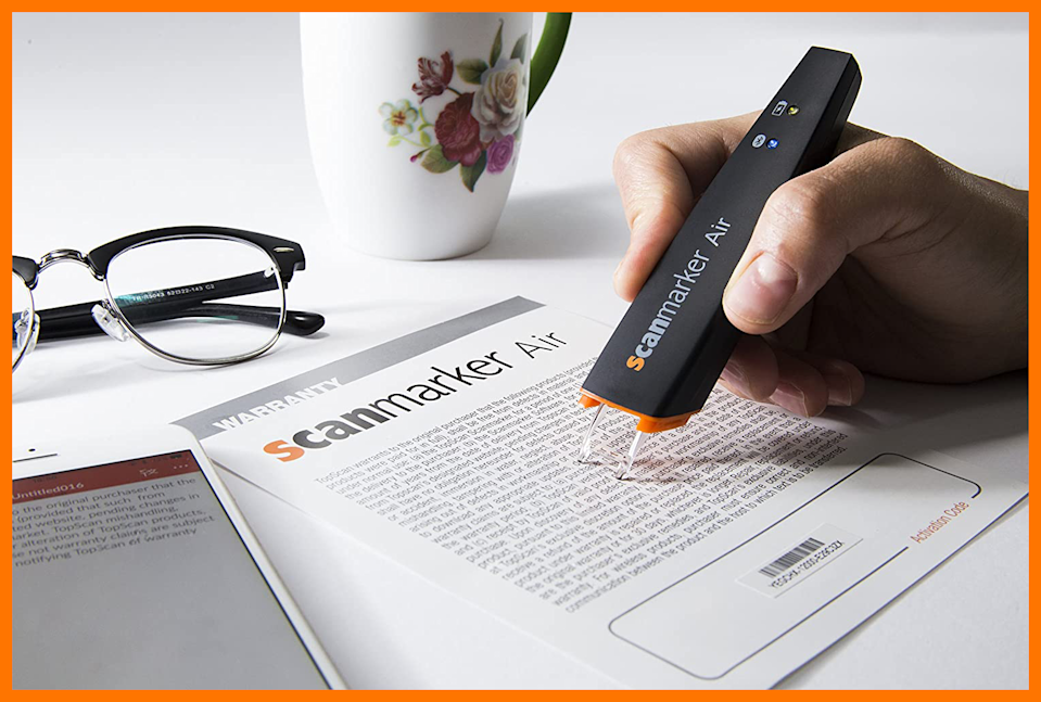This Scanmarker Air Pen Scanner is on sale for $114. (Photo: Amazon)