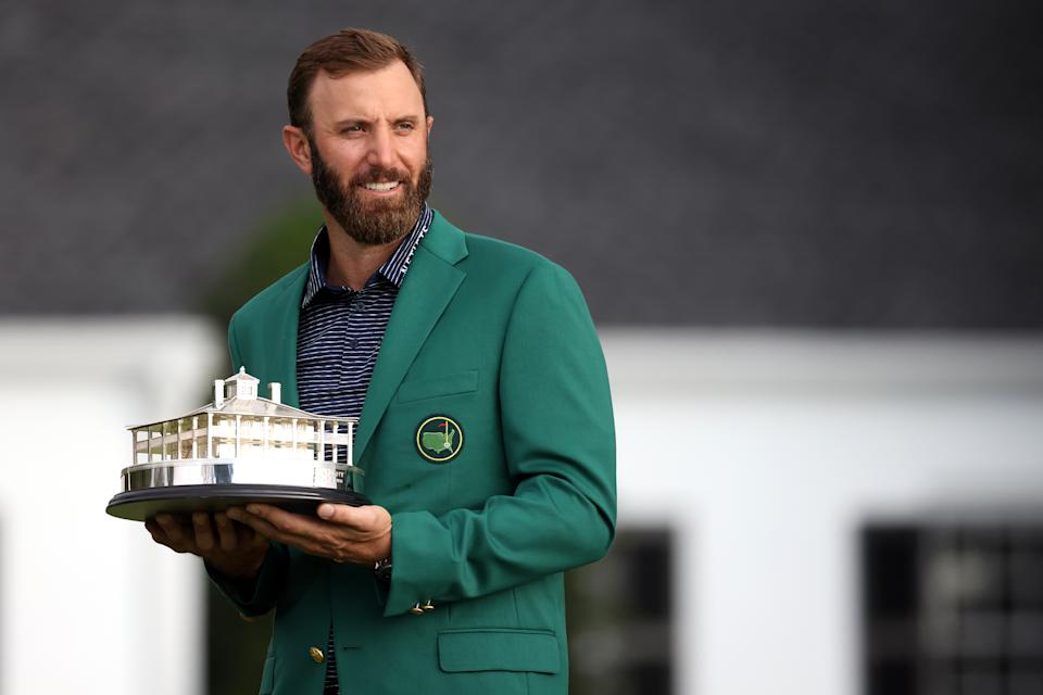 Will Dustin Johnson win again? (Rob Carr/Getty Images)