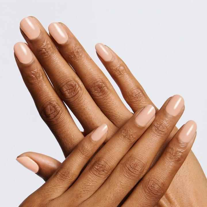 <p>The <span>Olive & June JO Polish</span> ($8) is the fall alternative to a peachy color. It's creamy, warm toned, and super flattering.</p>