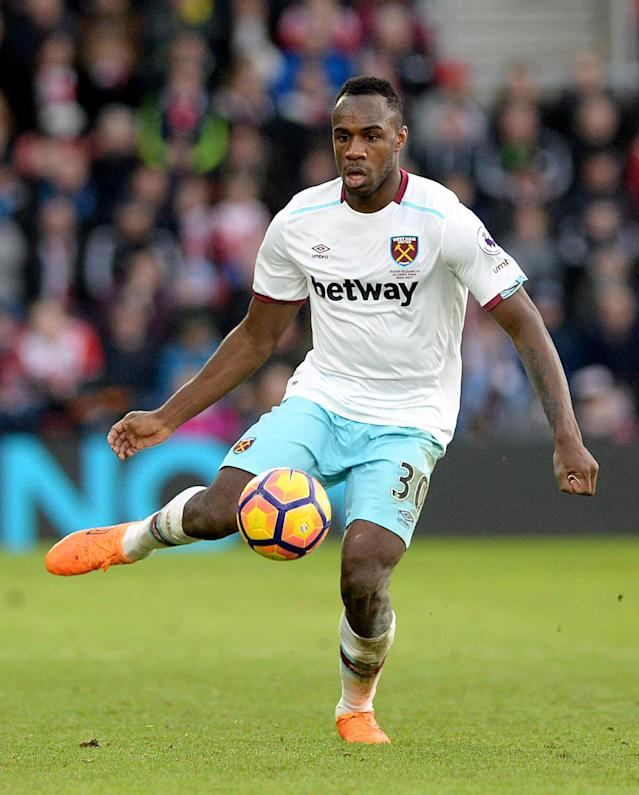 <p>Michail Antonio – West Ham (WhoScored.com rating 7.25) Called up for England by Sam Allardyce, Antonio has been one of West Ham's shining lights in a difficult season for the club. His six headed goals is bettered only by Andrea Belotti (8) in Europe's top five leagues this season and the 26-year-old could be ripe for his first England cap. </p>
