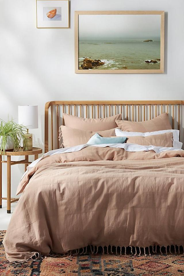 """<p>When looking for <a href=""""https://www.housebeautiful.com/shopping/best-stores/a33967819/amazon-hidden-overstock-outlet-home-deals/"""" target=""""_blank"""">good deals on home items</a>, you can never go wrong with a sale on top of a sale. Well, if want to refresh your home with majorly discounted pieces, you're going to want to head to Anthropologie. Right now, you can score an extra 50 percent off almost all sale items right now. That means you can take more than half off of the original price of furniture, decor, bedding, kitchenware, lighting and more. To take advantage of the sale, you're going to want to act fast because it's only two days long, and items are already selling out. Just be sure you love everything your cart, because all sales are final. </p>"""
