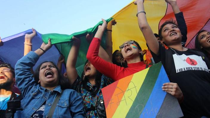 Campaigns to demand equal treatment for homosexuals continue across India