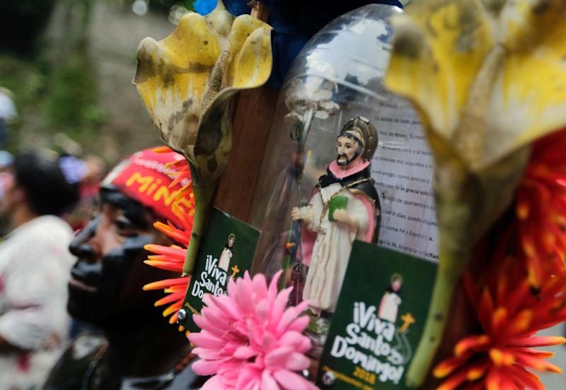 This year's celebration of Saint Dominic, a 12th century Spaniard who is the patron saint of Managua, came as protesters demanding the ouster of President Daniel Ortega clashed with government security forces
