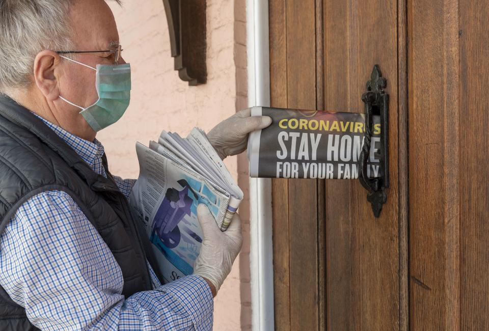 Millions were told to stay at home as much as possible at the start of the pandemic to protect them from coronavirus. (Getty)