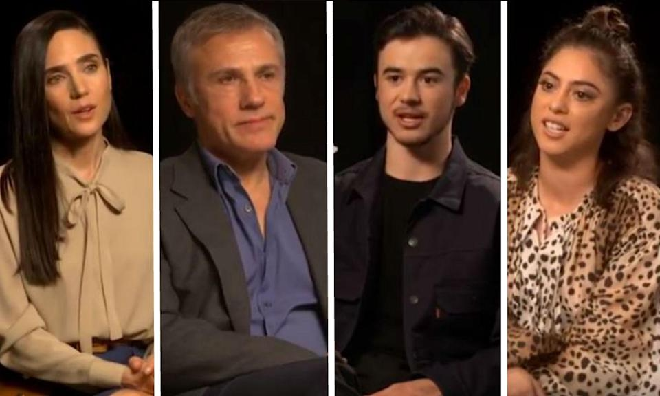 Rosa Salazar, Christoph Waltz, Keean Johnson and Jennifer Connelly say whether they'll pledge to work with more female directors.
