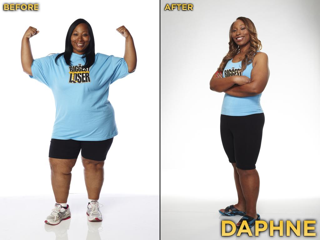 Daphne was part of the dramatic dynamic duo; she and her brother, Adrian, caused quite a stir when they were eliminated in the first episode, but were able to lose enough weight to rejoin the cast on the ranch at week 5. She made it to week 8, but had to put up with a lot of flak from the rest of the cast about her very outspoken brother. Rarely do you see the cast react so badly to one particular team on this show. She started the competition at 271 pounds, weighed 183 pounds at the finale, and thus lost 32.47% during the season.