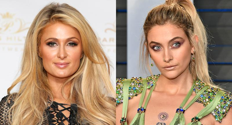 Paris Hilton and Paris Jackson's families have a long history. (Photo: Getty Image)