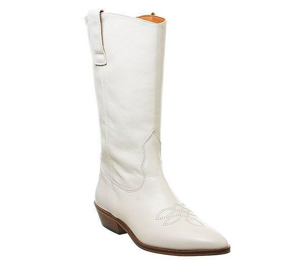 """<br><br><strong>Office</strong> Kalvin Western Calf Boots, $, available at <a href=""""https://www.office.co.uk/view/product/office_catalog/2,17/3838411599"""" rel=""""nofollow noopener"""" target=""""_blank"""" data-ylk=""""slk:Office"""" class=""""link rapid-noclick-resp"""">Office</a>"""