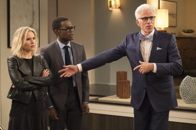 'The Good Place' preview: Round 2 for Kristen Bell and Ted Danson