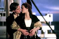 """<a href=""""http://movies.yahoo.com/movie/titanic/"""" data-ylk=""""slk:TITANIC"""" class=""""link rapid-noclick-resp"""">TITANIC</a> (1997) <br> Directed by: <span>James Cameron</span> <br>Starring: <span>Leonardo DiCaprio</span> and <span>Kate Winslet</span>"""