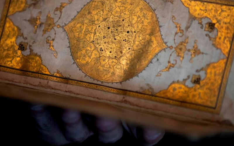 A Dutch art detective has recovered a stolen 15th century book of poems by Hafiz's, saying he beat Iranian secret agents to it - AFP