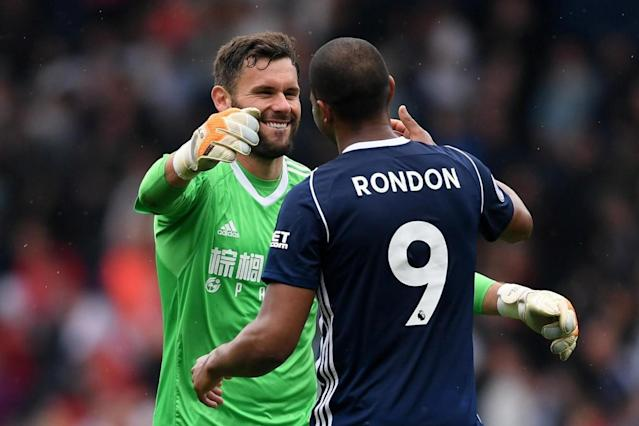 West Brom 2 Liverpool 2: Salmon Rondon stuns Reds with late equaliser as Baggies fight on