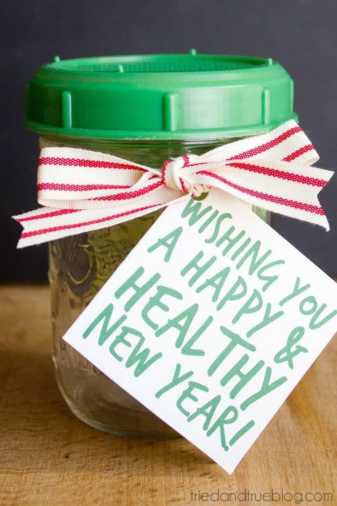 """<p>Holiday cakes, candies and cookies are a happy splurge for many of us, but we also all have that one friend keeping it healthy during Yuletide. This jar filled with seeds that will grow into nutritious, delicious salad sprouts is the perfect gift for them.</p><p><strong>Get the tutorial at<a href=""""https://www.triedandtrueblog.com/healthy-mason-jar-gift/"""" rel=""""nofollow noopener"""" target=""""_blank"""" data-ylk=""""slk:Tried and True Creative"""" class=""""link rapid-noclick-resp""""> Tried and True Creative</a>.</strong></p><p><a class=""""link rapid-noclick-resp"""" href=""""https://www.amazon.com/Sprouting-Jar-Strainer-Lid-Growing/dp/B000WRZODY/ref=as_li_bk_tl/?tag=syn-yahoo-20&ascsubtag=%5Bartid%7C10050.g.2132%5Bsrc%7Cyahoo-us"""" rel=""""nofollow noopener"""" target=""""_blank"""" data-ylk=""""slk:SHOP SPROUTING JAR STRAINER LID"""">SHOP SPROUTING JAR STRAINER LID </a></p>"""