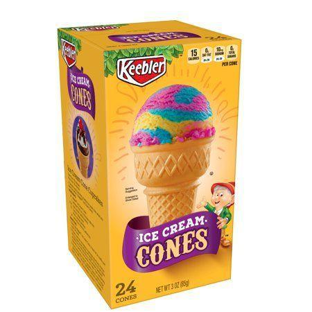 """<p><strong>Keebler</strong></p><p>walmart.com</p><p><strong>$2.33</strong></p><p><a href=""""https://go.redirectingat.com?id=74968X1596630&url=https%3A%2F%2Fwww.walmart.com%2Fip%2F15136046&sref=https%3A%2F%2Fwww.bestproducts.com%2Feats%2Fg35651204%2Fvegan-foods%2F"""" rel=""""nofollow noopener"""" target=""""_blank"""" data-ylk=""""slk:Shop Now"""" class=""""link rapid-noclick-resp"""">Shop Now</a></p><p>If you'd rather eat your vegan ice cream from a cone, opt for this wafer variety. They contain wheat and soy ingredients, but no milk products or other animal derivatives.</p><p><em>Per 1 cone: 49 cals, 0.5 g fat (0.1 g sat), 10 g carbs, 3.4 g sugar, 42 mg sodium, 0.3 g fiber, 0.9 g protein. </em></p>"""