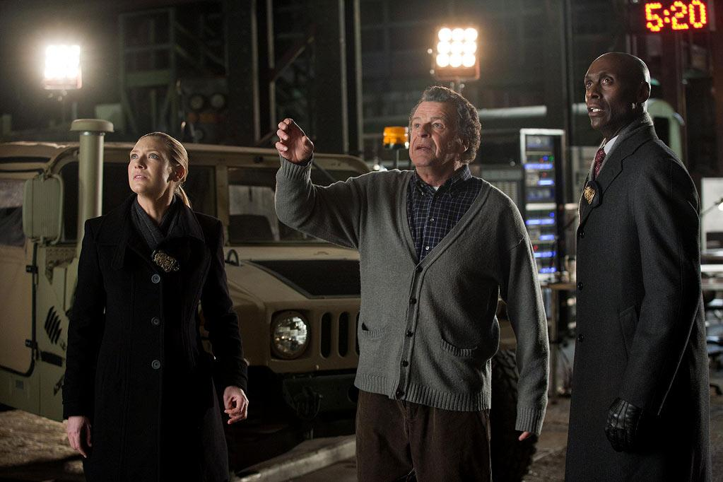 """BEST: """"<a href=""""/fringe/show/42960"""">Fringe</a>"""" — This finale had its share of writing problems, but the character stuff was still as compelling as ever, and after three seasons, this show is still finding a way to blindside us. This time they gave us a disappearing Peter (he shouldn't have monkeyed with the space-time continuum so much, we guess) and the two universes coming together in one room, making for one of the most epic cliffhangers of the season."""