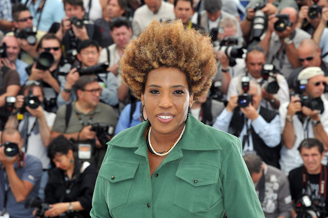 "CANNES, FRANCE - MAY 24:  Actress Macy Gray attend the ""The Paperboy"" photocall during the 65th Annual Cannes Film Festival at Palais des Festivals on May 24, 2012 in Cannes, France.  (Photo by Pascal Le Segretain/Getty Images)"