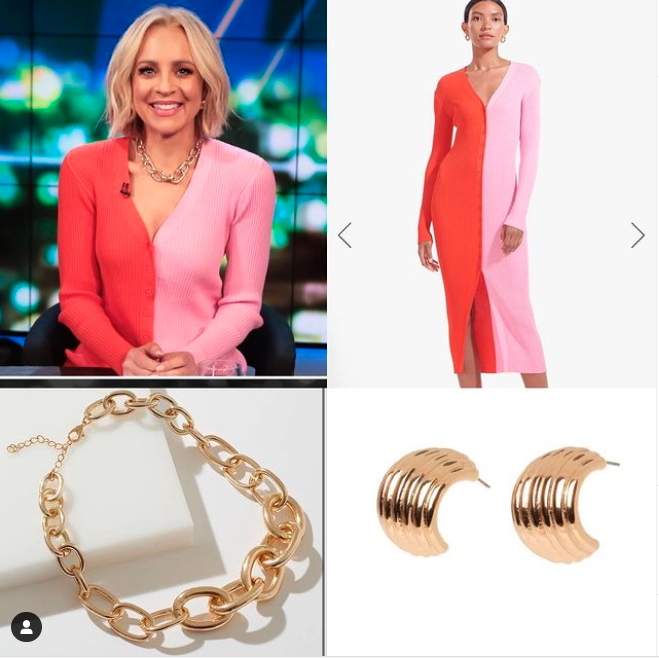 Carrie Bickmore outfit