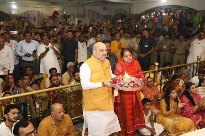 Jagannath Rath Yatra Begins Today, Amit Shah Offers Prayers and Performs Aarti