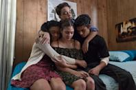 """<p>Spend some time with best friends Monse, Ruby, Jamal, and Cesar as they confront the challenges of puberty and growing up in their predominantly Hispanic and black neighborhood in South Central LA.</p> <p><a href=""""https://www.netflix.com/title/80117809"""" class=""""link rapid-noclick-resp"""" rel=""""nofollow noopener"""" target=""""_blank"""" data-ylk=""""slk:Watch On My Block on Netflix now"""">Watch <strong>On My Block</strong> on Netflix now</a>.</p>"""
