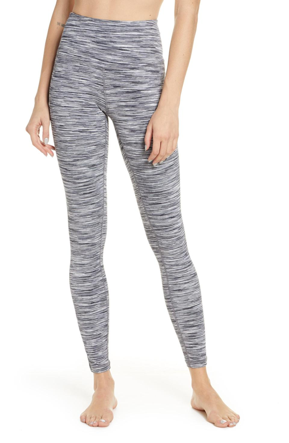 """<p><strong>ZELLA</strong></p><p>nordstrom.com</p><p><a href=""""https://go.redirectingat.com?id=74968X1596630&url=https%3A%2F%2Fwww.nordstrom.com%2Fs%2Fzella-live-in-space-dye-high-waist-leggings%2F5459391&sref=https%3A%2F%2Fwww.redbookmag.com%2Flife%2Fg34807129%2Fnordstrom-black-friday-cyber-monday-deals-2020%2F"""" rel=""""nofollow noopener"""" target=""""_blank"""" data-ylk=""""slk:Shop Now"""" class=""""link rapid-noclick-resp"""">Shop Now</a></p><p><strong><del>$65</del> $24.37 (62% off)</strong></p><p>Zella leggings are a customer fave, and these discounted ones have some pretty impressive reviews. </p>"""