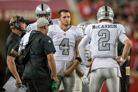 <span>It's a grim, grim time to be an Oakland Raiders fan</span> <span>Credit: Kyle Terada/USA Today </span>