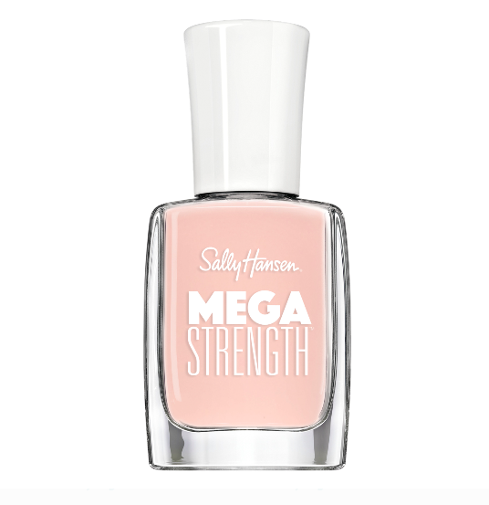 "<h3>Sally Hansen Mega Strength Boss Gloss</h3><br>Sally Hansen recently released <a href=""https://www.sallyhansen.com/us/nail-color/mega-strength"" rel=""nofollow noopener"" target=""_blank"" data-ylk=""slk:a formulation of long-wear polish"" class=""link rapid-noclick-resp"">a formulation of long-wear polish</a>, which is easy to spot on the shelves thanks to its chunky Mega Strength label. This pale pink, called Boss Gloss, comes highly recommended by nail pro <a href=""https://www.instagram.com/skyyhadley28/"" rel=""nofollow noopener"" target=""_blank"" data-ylk=""slk:Skyy Hadley"" class=""link rapid-noclick-resp"">Skyy Hadley</a>. ""This shade is perfect for everyday,"" she says. ""It's sheer but pigmented just so.""<br><br><strong>Sally Hansen</strong> Mega Strength Nail Polish Lacquer, Boss Gloss, $, available at <a href=""https://go.skimresources.com/?id=30283X879131&url=https%3A%2F%2Fwww.walmart.com%2Fip%2FSally-Hansen-Mega-Strength-Nail-Polish-Lacquer-Boss-Gloss-0-40-Fl-Oz%2F399201591"" rel=""nofollow noopener"" target=""_blank"" data-ylk=""slk:Walmart"" class=""link rapid-noclick-resp"">Walmart</a>"