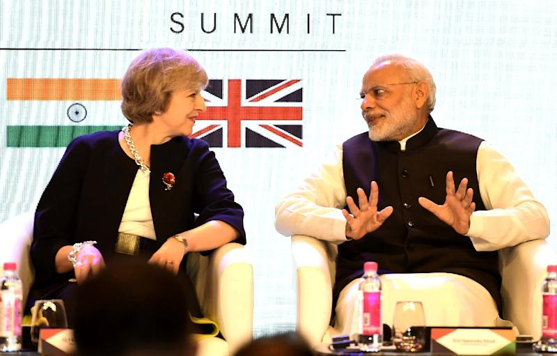 may lays groundwork for post brexit india trade deal
