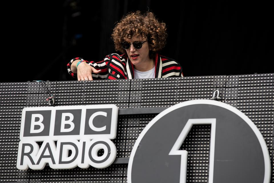 Annie Mac performs on stage at Powderham Castle on May 28, 2016 in Exeter, England.  (Photo by Mike Lewis Photography/Redferns)