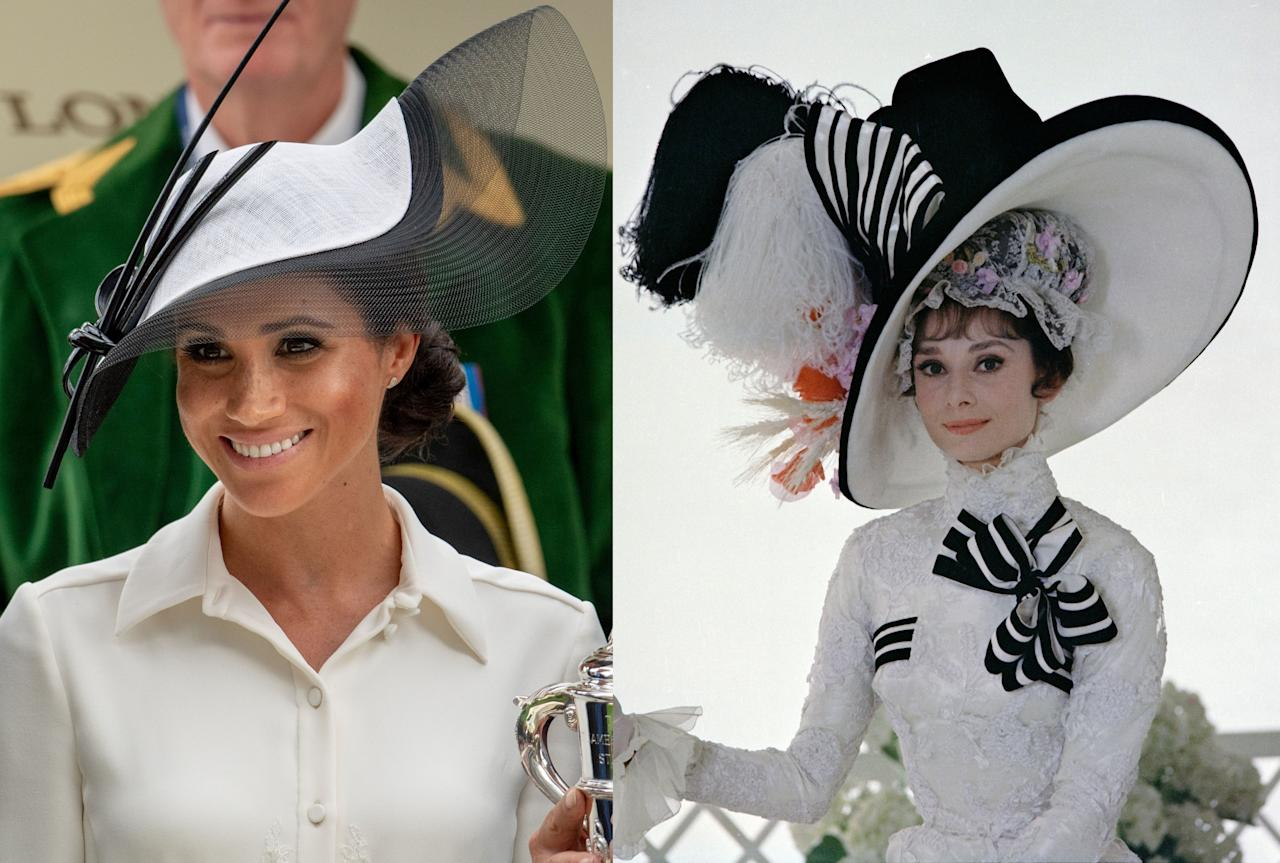 12 Times Meghan Markle Channeled Audrey Hepburns Style