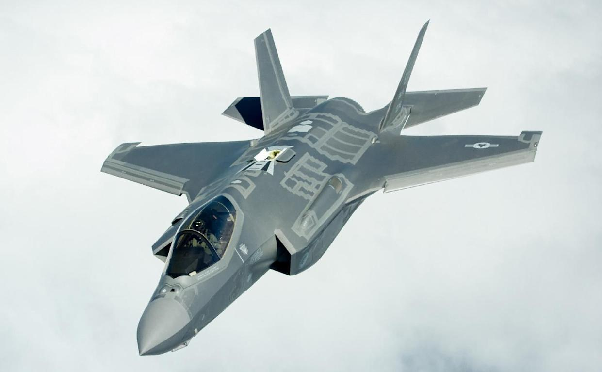 Russia vs  Stealth F-35s: Is Moscow Jamming F-35 GPS Systems Near Iran?
