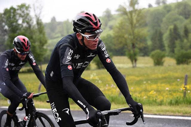 Chris Froome was hoping to claim his fifth Tour de France title in July. (Credit: Getty Images)