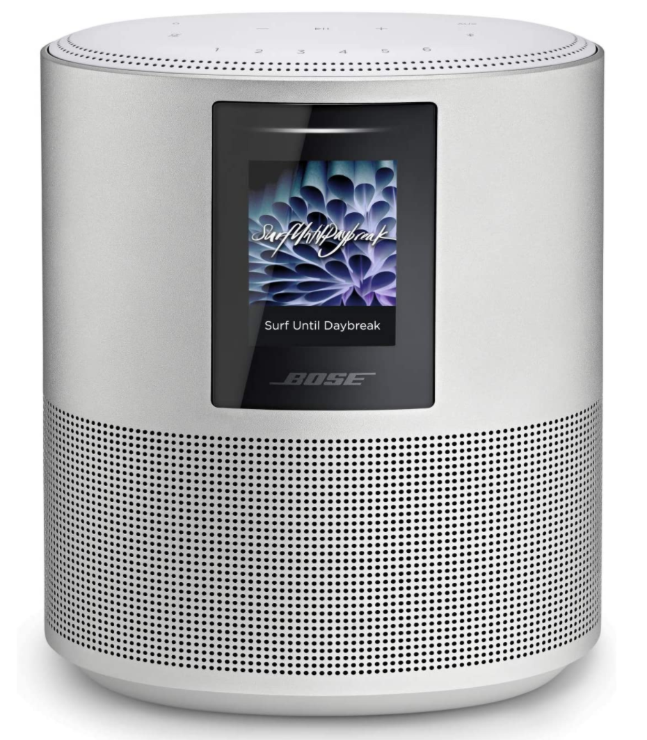 Bose Home Speaker 500 with Alexa voice control in Silver