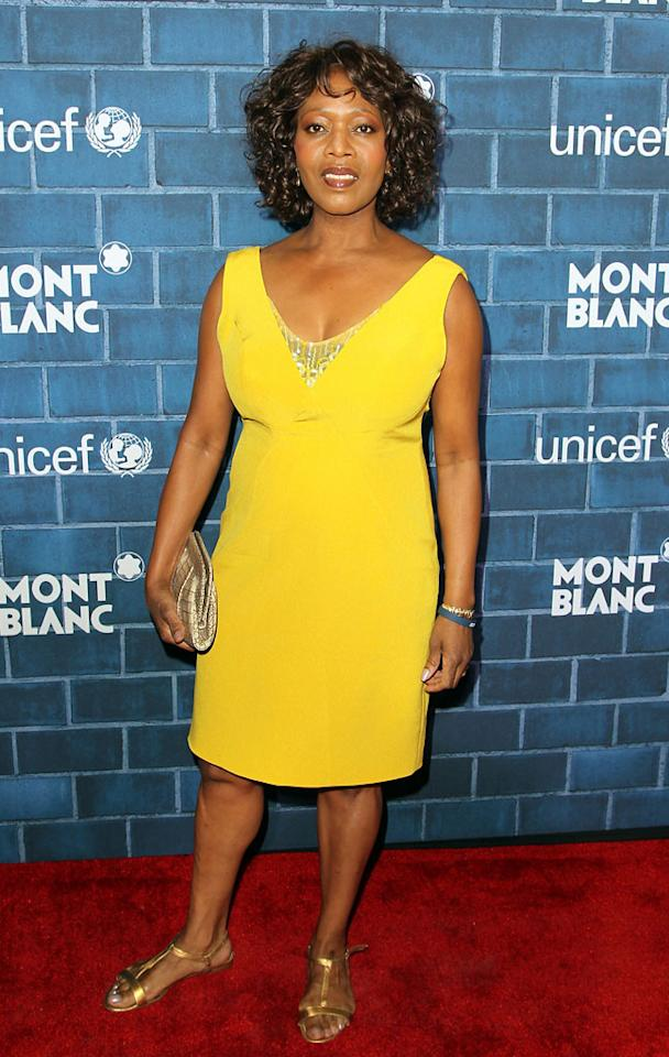 """Alfre Woodard attends a Pre-Oscar charity brunch hosted by Montblanc and UNICEF to celebrate the launch of their new """"Signature For Good 2013"""" Initiative with special guest Hilary Swank at Hotel Bel-Air on February 23, 2013 in Los Angeles, California"""