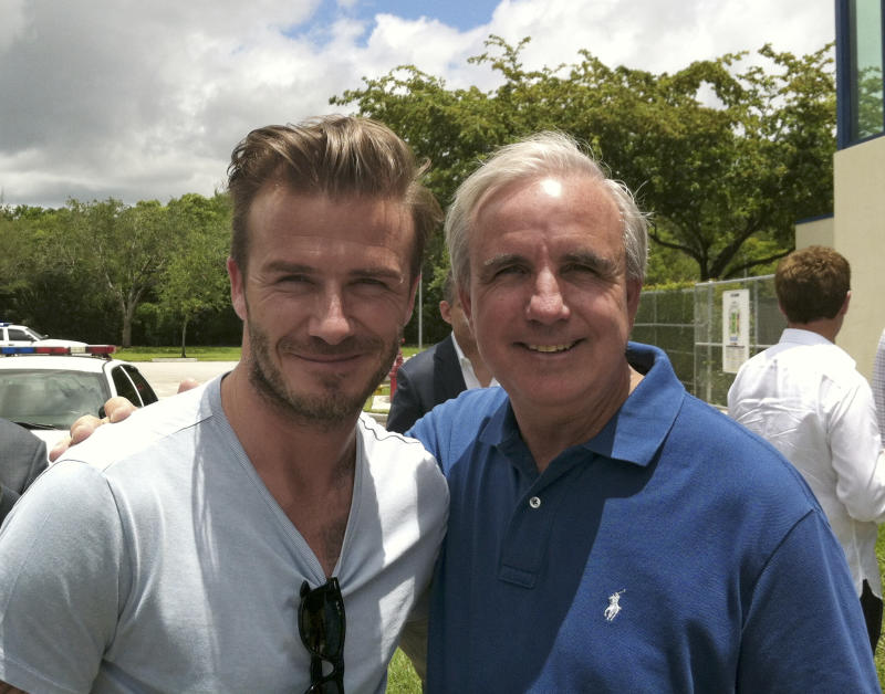 Beckham tours Miami stadiums; city hopes for team