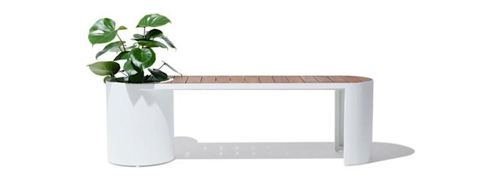 Industry West Planter Bench