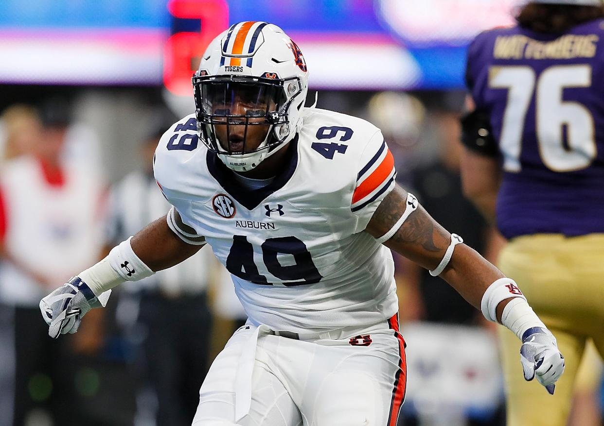 Auburn took care of business Saturday. (Getty)