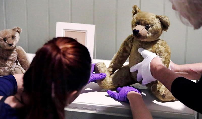 'Silly old bear': New exhibition celebrates Winnie-the-Pooh