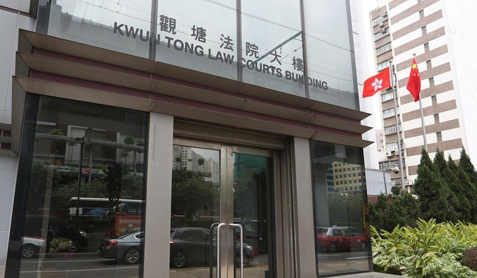 Ian Wong was cleared of assault at Kwun Tong Court. Photo: Nora Tam