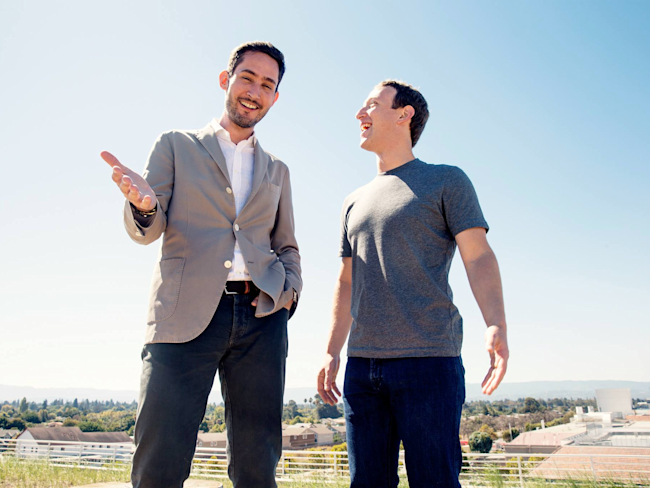 kevin systrom mark zuckerberg
