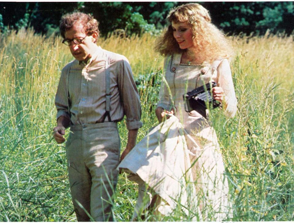 <p>In 1982, the couple's first movie collaboration, <strong>A Midsummer Night's Sex Comedy</strong>, was released. They went on to work together on a dozen more films over the course of the next decade. </p>