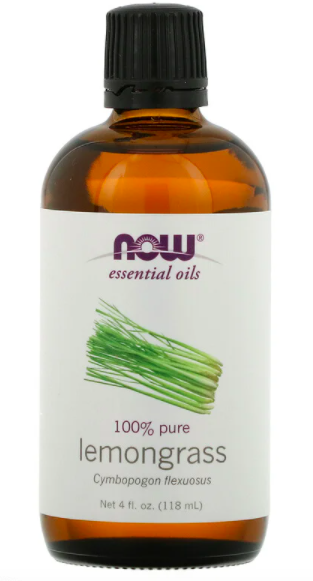 Lemongrass essential oil, 118ml, S$19.13. PHOTO: iHerb